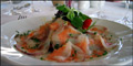 Monkfish & Salmon Carpaccio